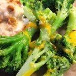Skillet Cheesy Broccoli