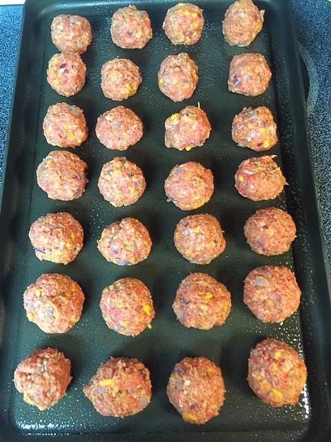 Rolling Meatballs