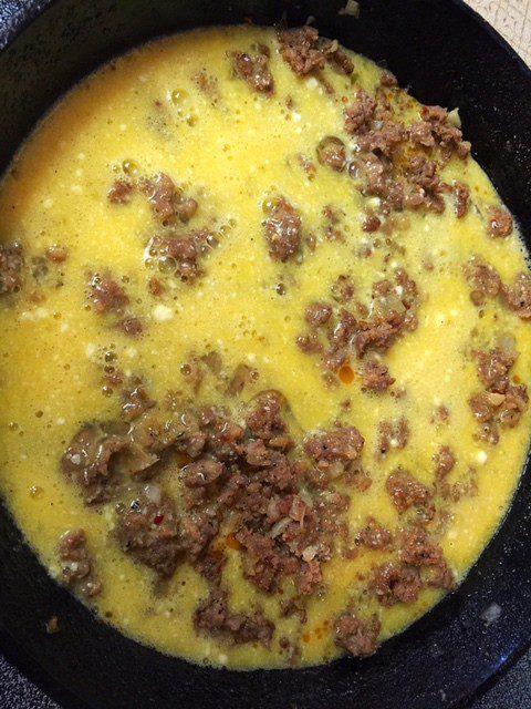 Italian Sausage Quiche