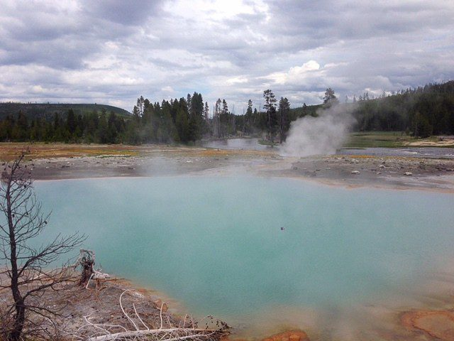 Yellowstone National Park Springs