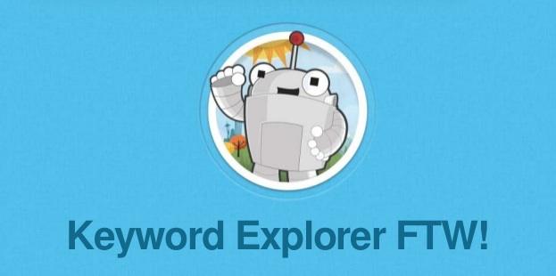 Moz Keyword Explorer
