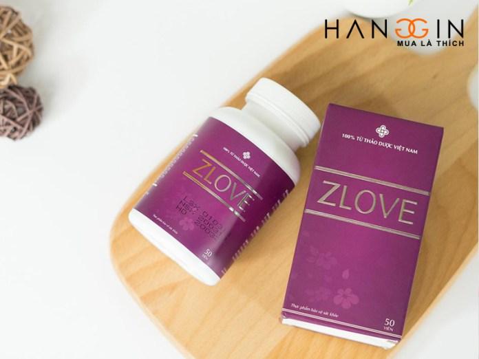 Zlove là sự kết hợp tinh tế của 11 loại thảo dược an toàn