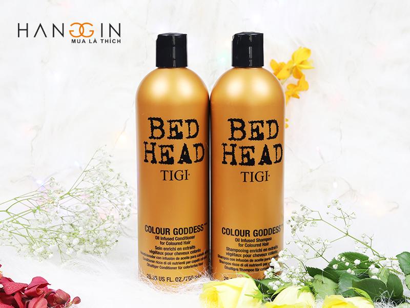 Dầu gội tigi nâu cao cấp cho tóc nhuộm