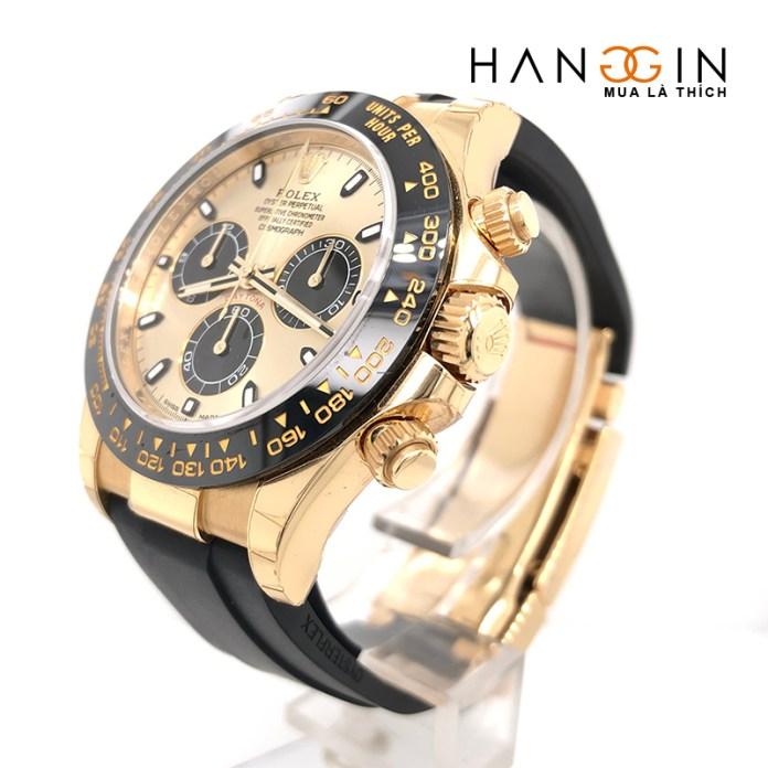 Đồng hồ Rolex Daytona Black 40mm vàng đúc 18k - 116518LN
