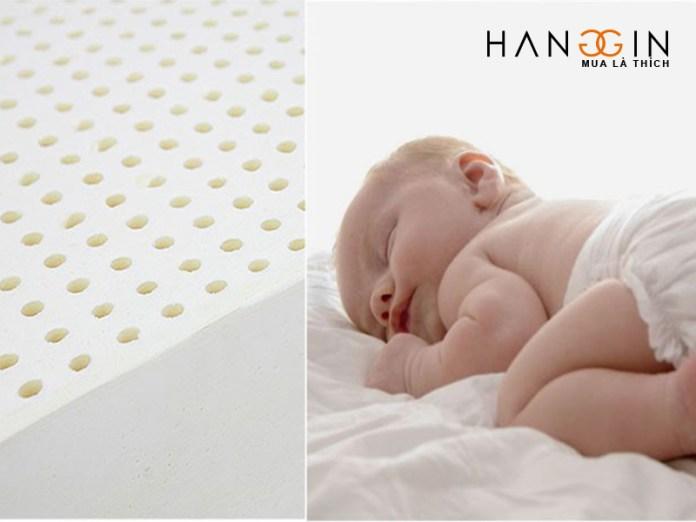 Kích thước đệm em bé ra sao và giá thế nào?