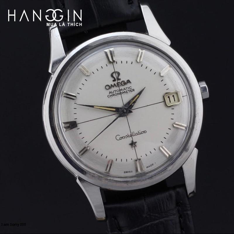 đồng hồ dây da omega