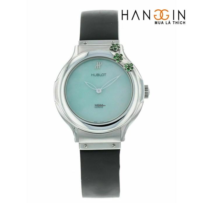 Đồng hồ đeo tay nữ thạch anh Hublot cổ điển