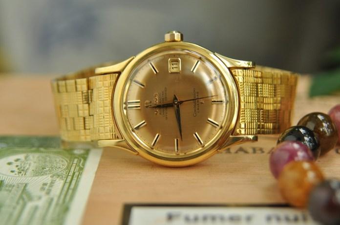 Đồng hồ mạ vàng nam - 3