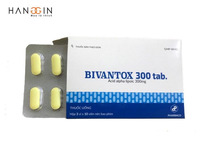 Bivantox 300 tab những thành phần có trong sản phẩm