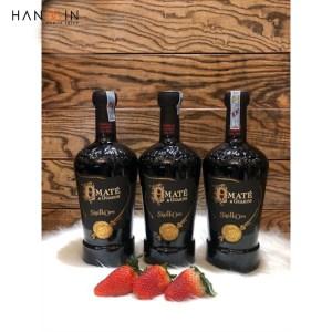 Rượu vang đỏ Amatè Rosso Negroamaro Primitivo I.G.T