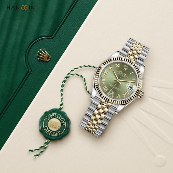 Rolex ROLESOR màu xanh DATEJUST 31 - 2