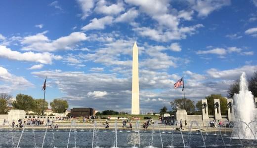 ニューヨークからワシントンDC観光!バスを利用した2泊3日の旅行体験記