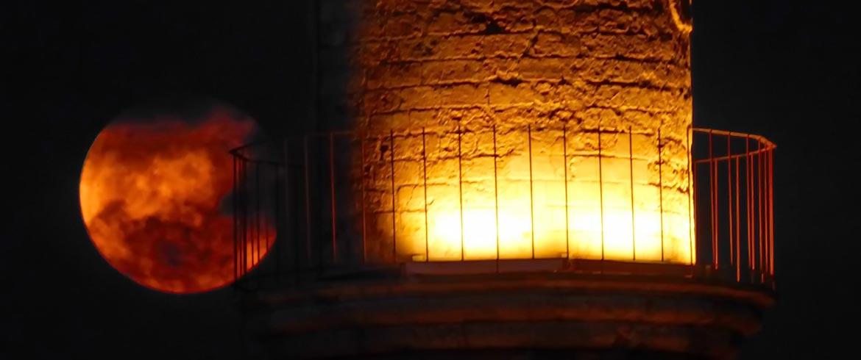 Η υπερπανσέληνος «έλαμψε» στο ενετικό λιμάνι των Χανίων (εικόνες)
