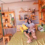Phòng gỗ Love Room tại HANIGO Homestay