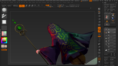 zbrush rendering more 6