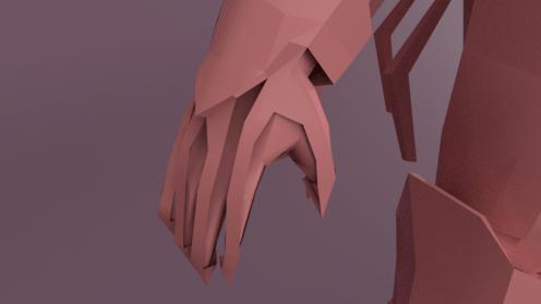 Close-up on Hand