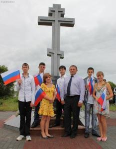 В 2007-м году на самой границе между Россией и Китаем на Турийрогской заставе был установлен Поклонный крест «Во славу русских воинов»
