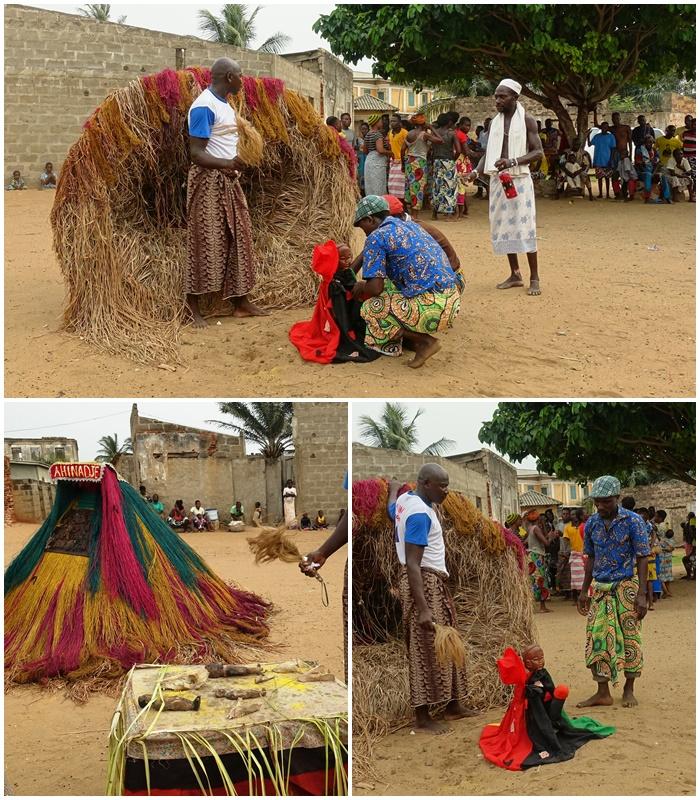 Benin, voodoo i wirujące Zangbeto