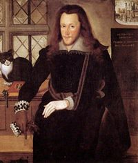 The Fair Youth: in real life, Henry Lord Southampton, shown here in the Tower 1601-1603