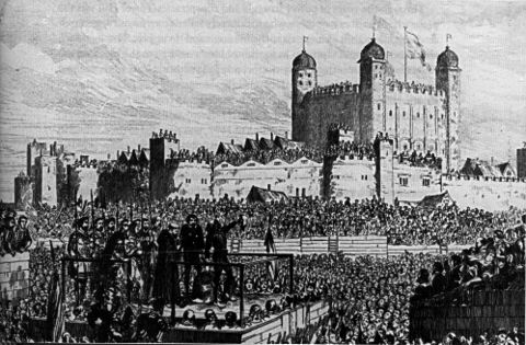 Execution on Tower Hill