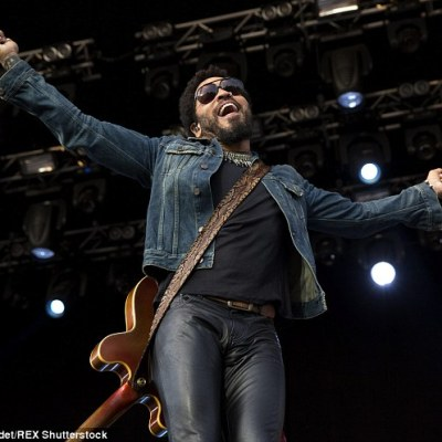 Lenny Kravitz psyched me out.