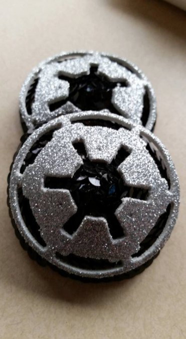 Imperial Insignia STAR WARS by TasselsandTreasure
