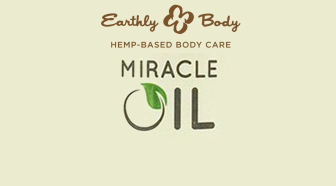 Review | Miracle Oil by Earthly Body