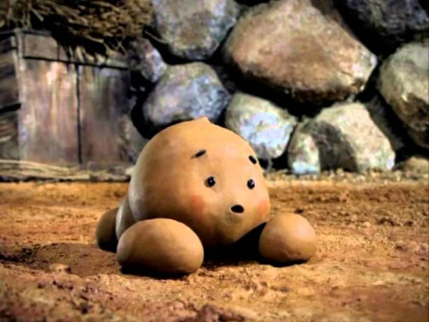 I mean have you ever seen a cuter piece of poo? This is a screenshot from the animated version, which you can watch here (in Korean).