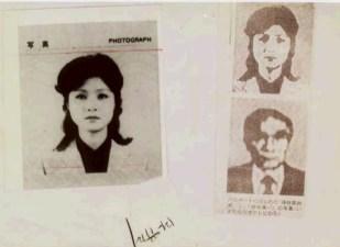 Zdjęcia z fałszywych paszportów