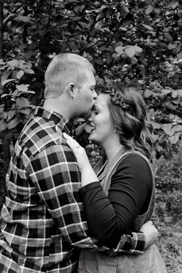 Tiera + Brennan, engaged [Colville, WA]