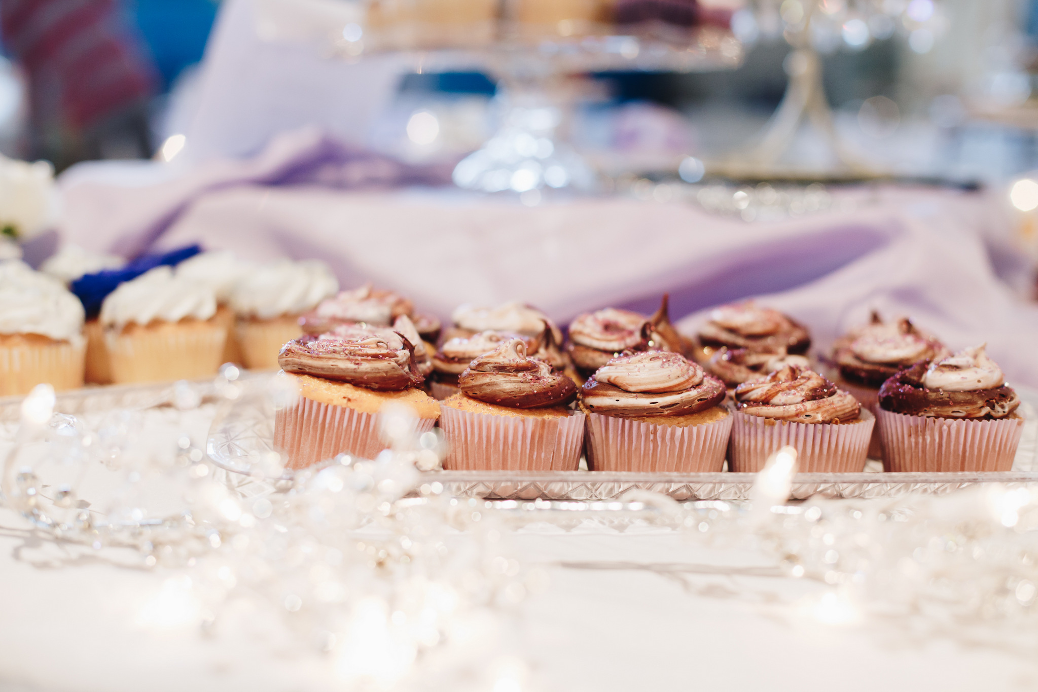 washington dc wedding - chocolate cupcakes