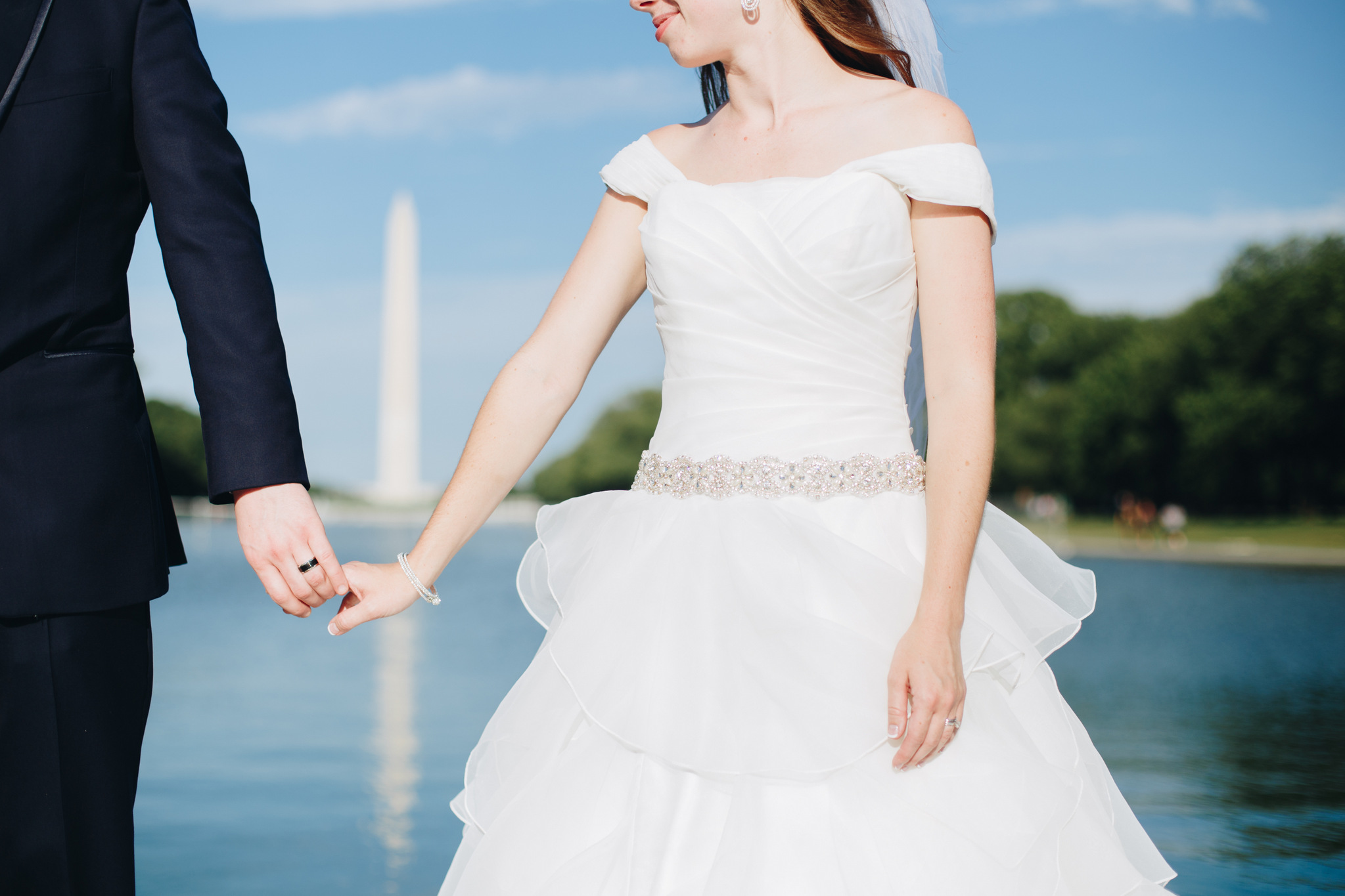hannah acheson photography - washington dc, lincoln memorial wedding photos, couple portraits