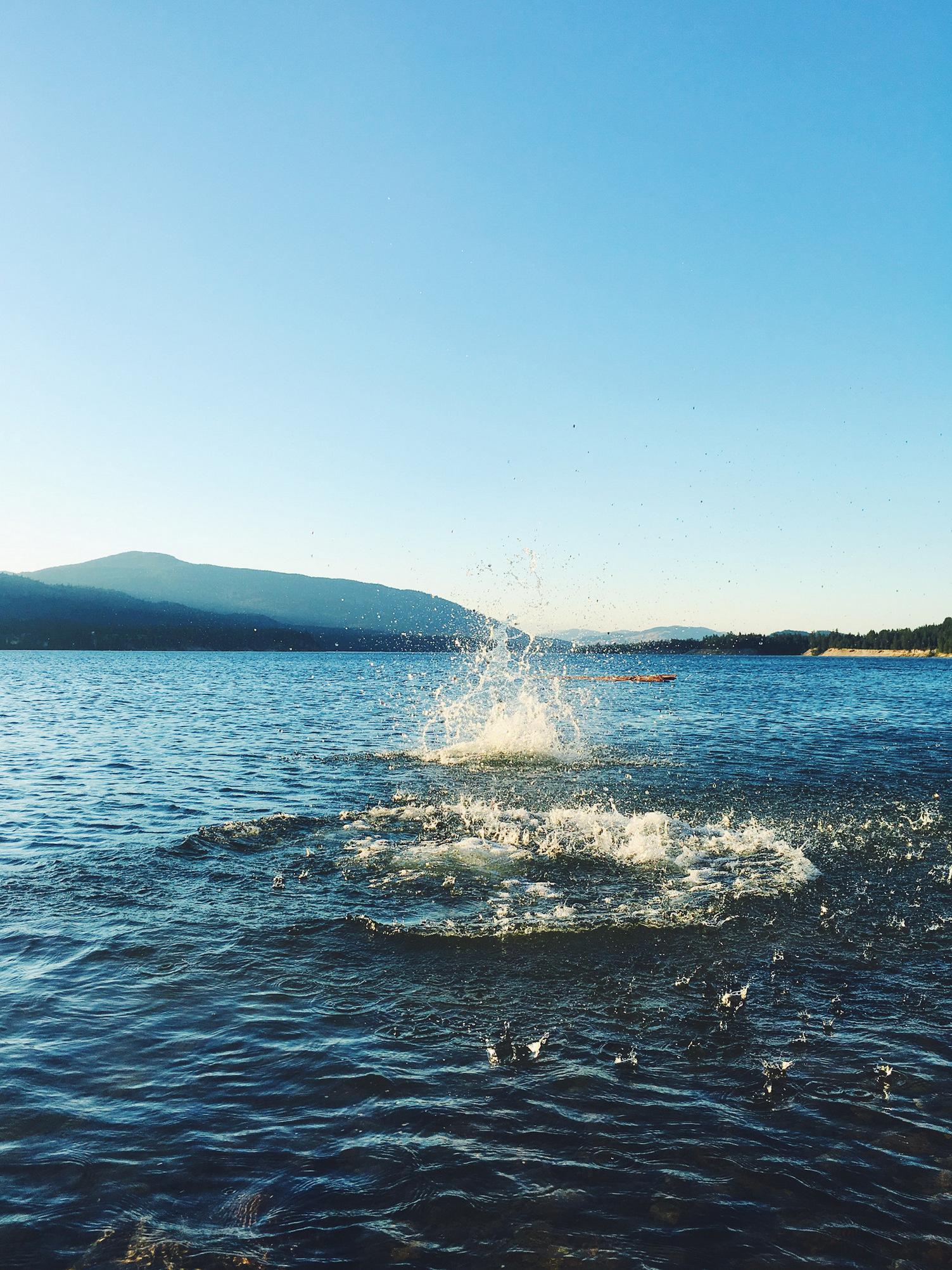 summer at lake roosevelt