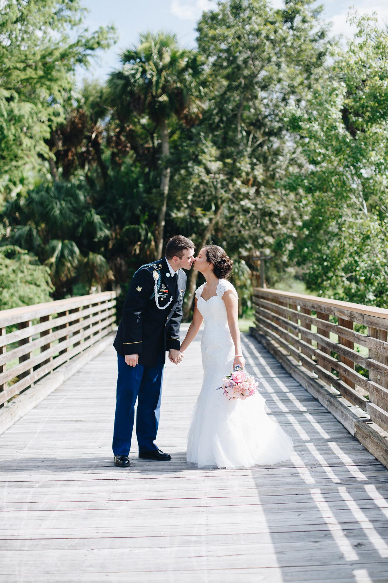 military wedding in jupiter, florida