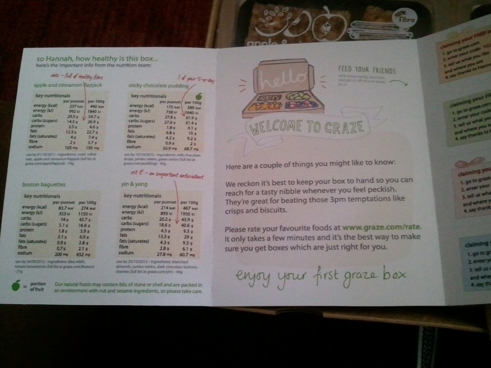 Graze Box Review and Free Box Offer! (3/6)