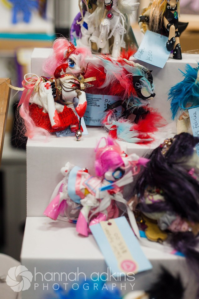 Custom Ponies in The Traveling Pony Museum