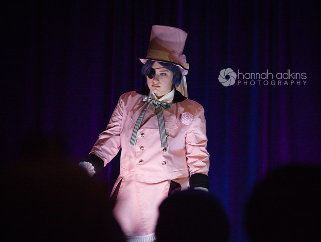 Cosplayer in the cosplay fashion show