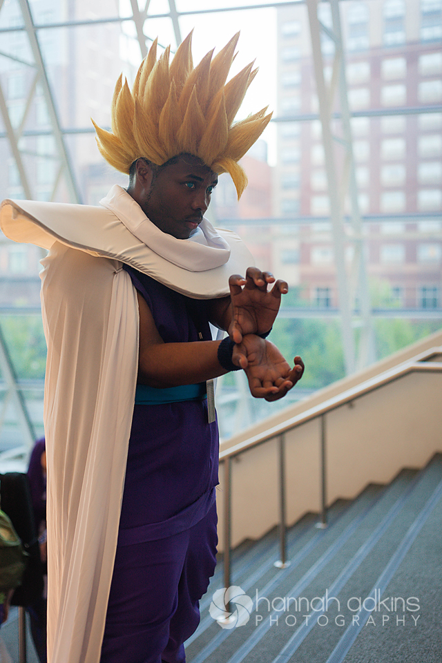 Dragon Ball Z Cosplayer