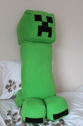 minecraft creeper body pillow soft cuddly very sized calgary unique fan gift