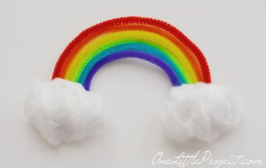 rainbow craft activity