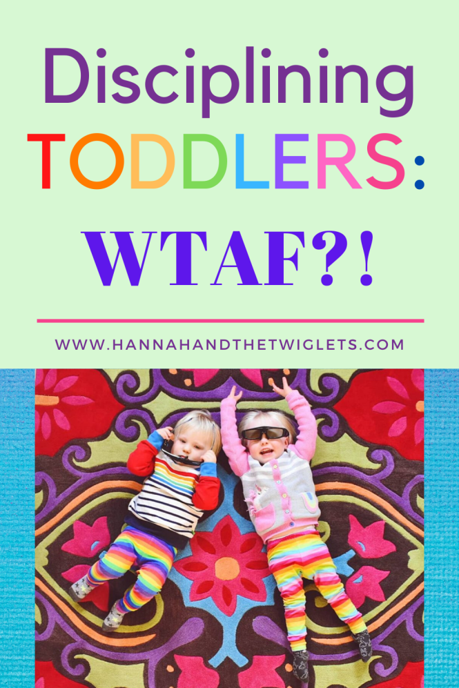 disciplining twin toddlers