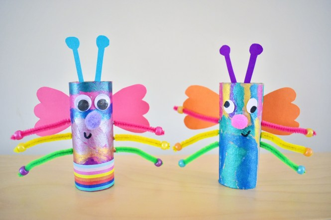 easy toilet roll minibeasts