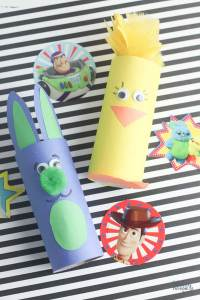 Bunny and Ducky Toy Story craft