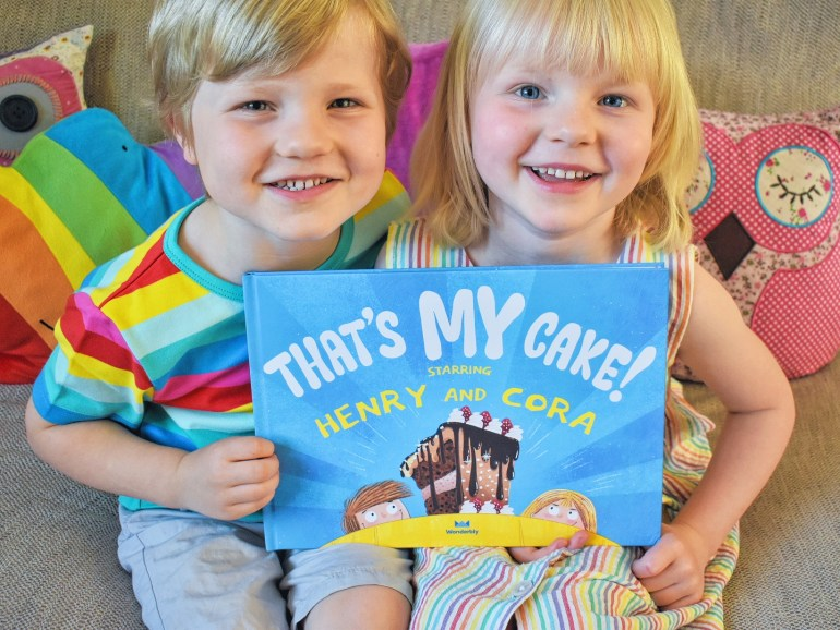 Wonderbly personalised books review