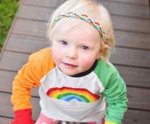 rainbow headband