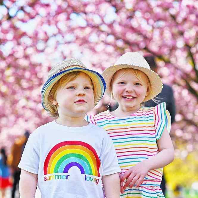 ideas for rainbow photo ideas with kids