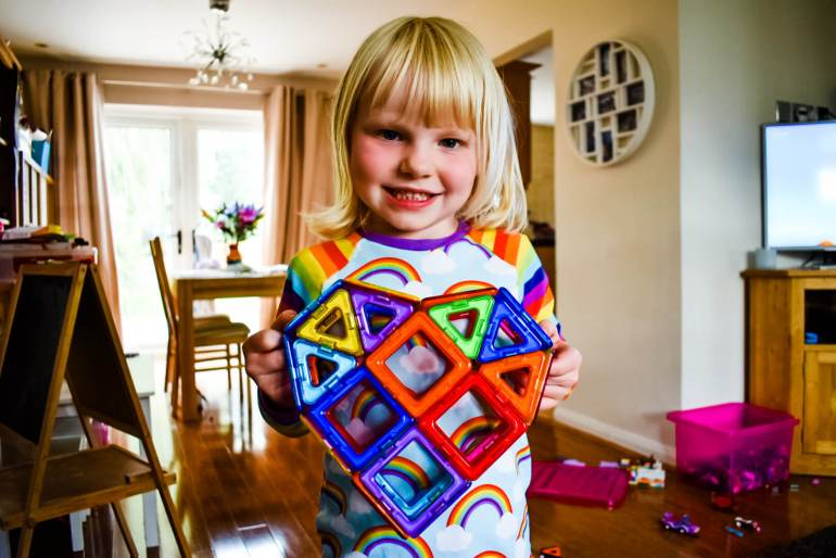 Magformers kids activities to do at home