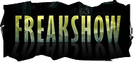 Freakshow is a florescent black-lit haunted house attraction at Hanna Haunted Acres.