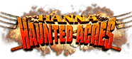 Hanna Haunted Acres official logo.