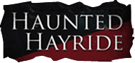Hanna haunted hayride is a ride through the woods in a tractor pulled wagon.